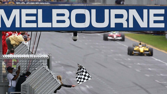 The 2013 season begins in Melbourne