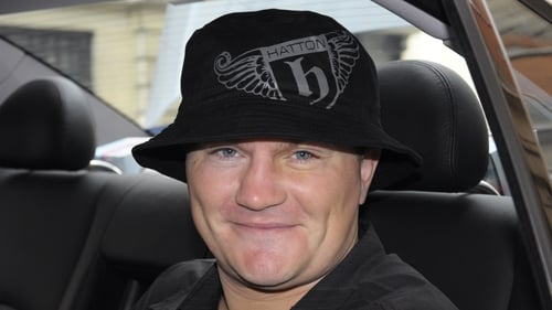 Ricky Hatton won't be smiling today as his boxer's licence has been withdrawn by the British Boxing Board of Control