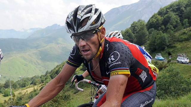 Lance Armstrong vented his anger on Twitter