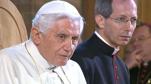 Pope Benedict XVI - First visit by Pope to Westminster Abbey