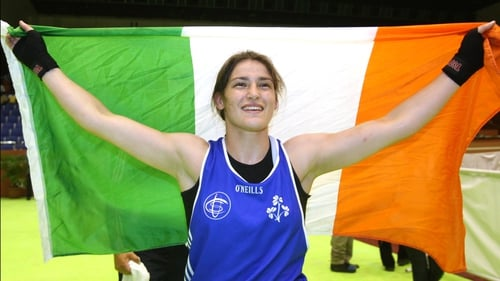 Katie Taylor has has won her third World Championships gold medal
