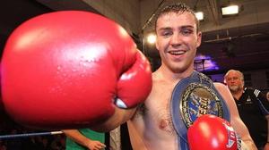 Matthew Macklin blew away Joachim Alcine in his most recent bout