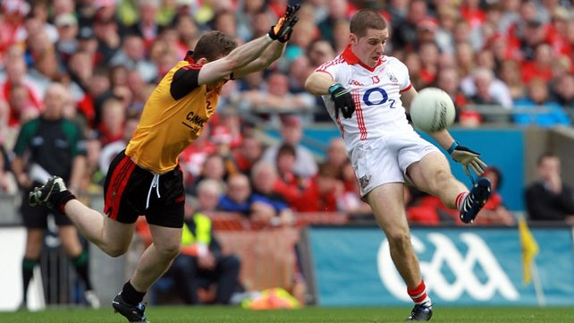 Daniel Goulding was in top form for Cork as the Rebels defeated Down at Croke Park