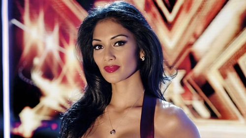 Scherzinger - Replaced Cheryl Cole on the panel when she was sick