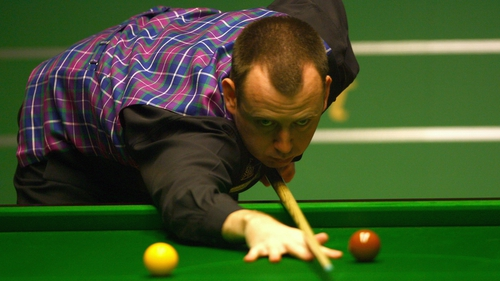 Mark Williams: 'It's just a shame because apart from Ronnie O'Sullivan who still seems to be going for it as if it is £147,000, a lot of other players aren't even going to attempt it.'