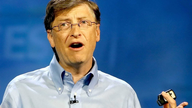 Bill Gates: RTE News interview to air on Monday January 28 on Morning Edition