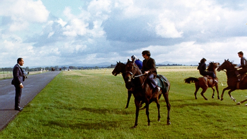 President Nixon at the Curragh