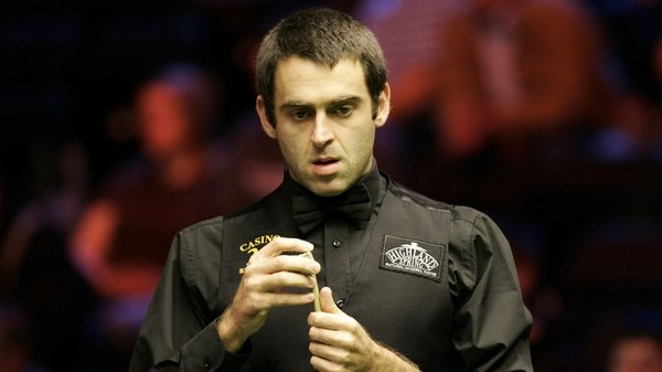 Ronnie O'Sullivan - The Rocket looked like he was going to deliver a maximum in his Crucible opener