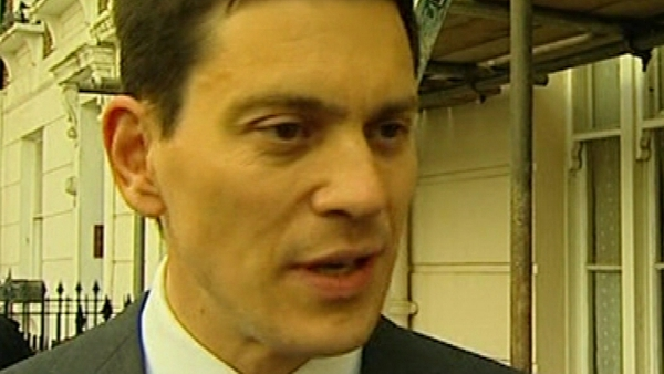David Miliband - Quits frontline politics