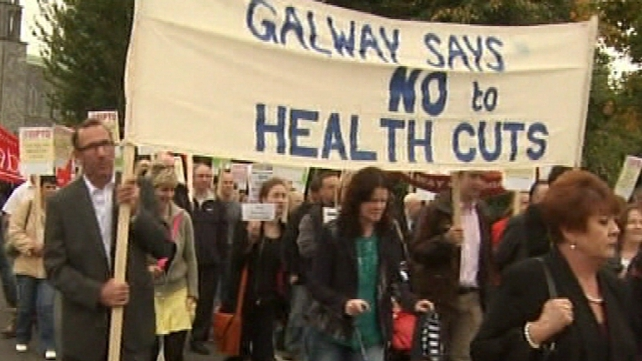 Galway - March over health cuts