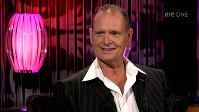 Gazza appearing on the Brendan O'Connor show in 2010