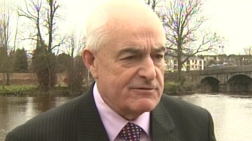 Ned O'Keeffe, TD,- Has said his son will now contest his seat