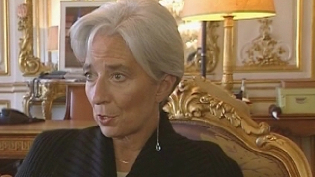 Christine Lagarde - Wants changes on world's finance system