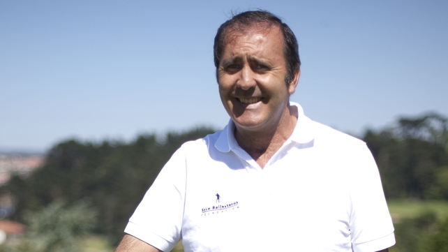 Seve Ballesteros sent his congratulations to the triumphant European team