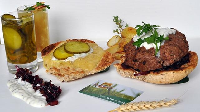 Paulaner Oktoberfest Burger