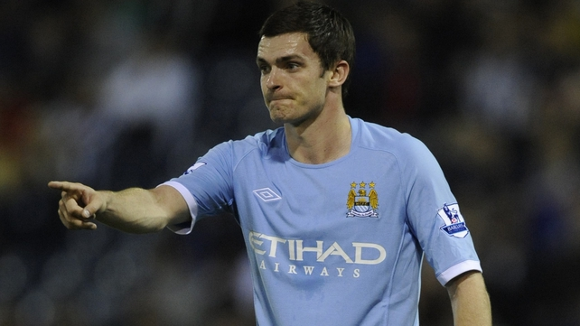 Adam Johnson scored to earn a point for Man City against the 'Old Lady' of Turin