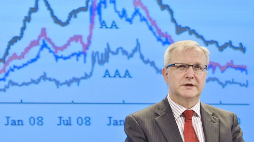 Olli Rehn - Ireland to set out four-year budgetary plan