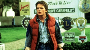 Michael J Fox as Back to the Future hero Marty McFly