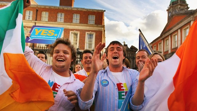 Lisbon Treaty - Ireland voted in favour second time around