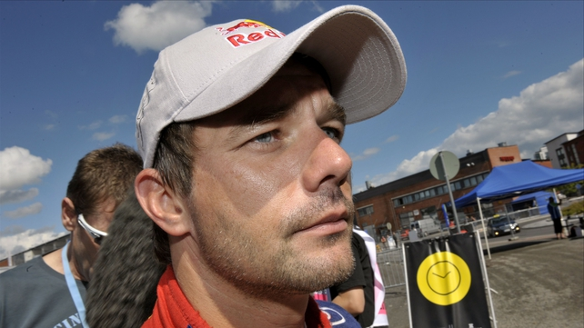 WRC championship leader Sebastian Loeb