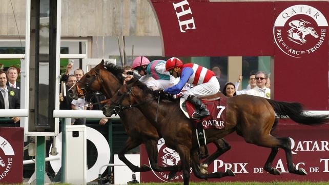 Workforce and Ryan Moore won the Qatar Prix de l'Arc de Triomphe