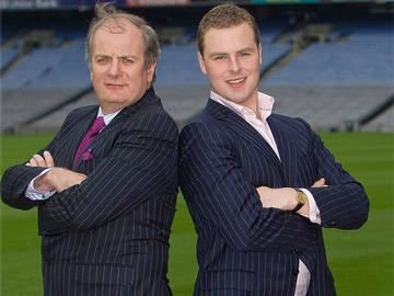 Celebrity Bainisteoir -Gavin Duffy and Breffny Morgan