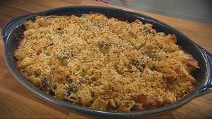Catherine Fulvio's Macaroni Cheese with Mushrooms