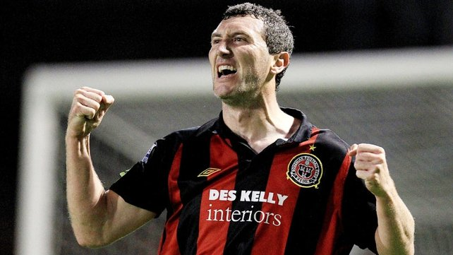 Jason Byrne has signed with Bohemians