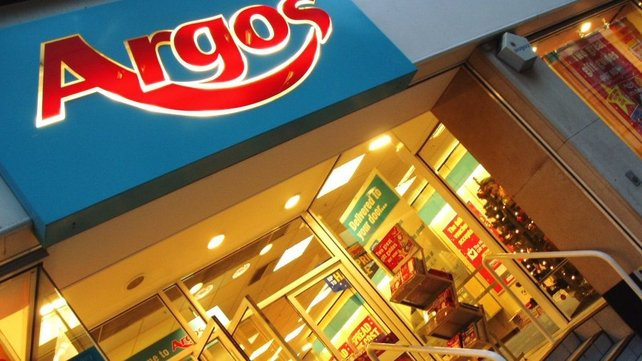 Sales at Argos stores open over a year up 5.2% in the final weeks of the company's fiscal year