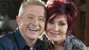 Sharon: Ecstatic to being reunited with Louis Walsh on The X Factor. Yes, really