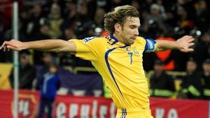 Andriy Shevchenko won 111 caps for Ukraine