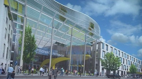 Children's Hospital - Building work to start at the end of 2011