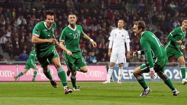 Sean St Ledger put Ireland in front
