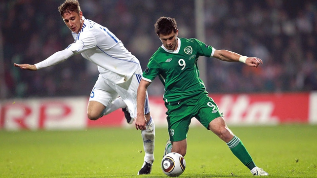 Shane Long was Ireland's most potent attacking threat in Zilina on a night when Robbie Keane's lack of first-team football was all too apparent