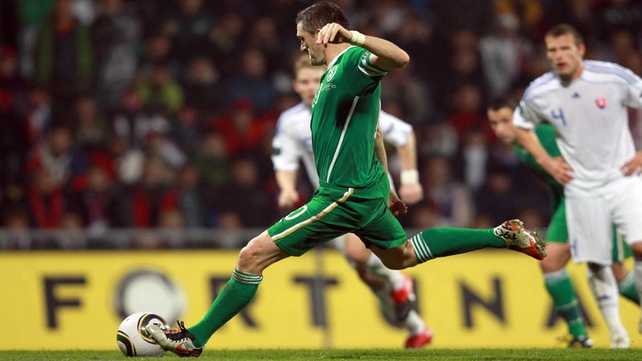 Robbie Keane's missed penalty contributed to that