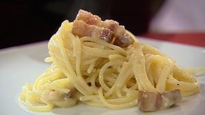 Catherine Fulvio's Spaghetti Alla Carbonara