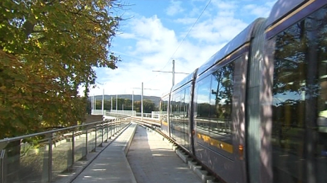 The changes are needed to accommodate work on the cross-city Luas line