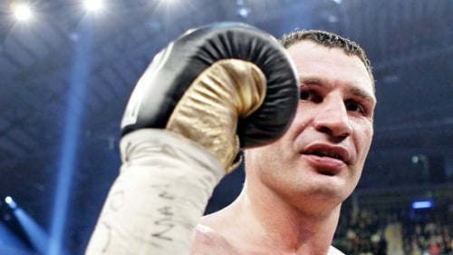 Vitali Klitschko does not see a fight with David Haye happening any time soon