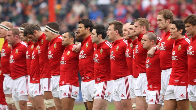 The Lions will play 10 matches in Australia