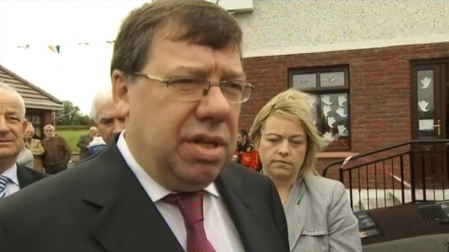 Brian Cowen - Significant correction to national finances
