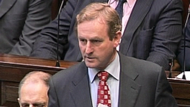 Enda Kenny - Green Party call has caused 'further political uncertainty'
