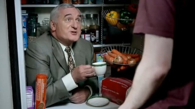Bertie Ahern - Publicising career as a sports pundit