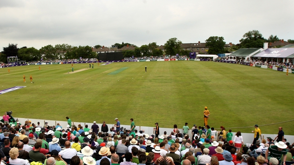 Clontarf played host to Ireland v Australia in 2009