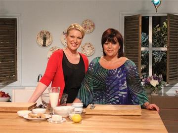 Rachel Allen's with Michele Davies