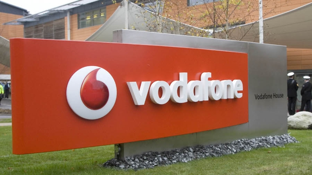 Vodafone's organic service revenue fell by 4.2% in the past three months