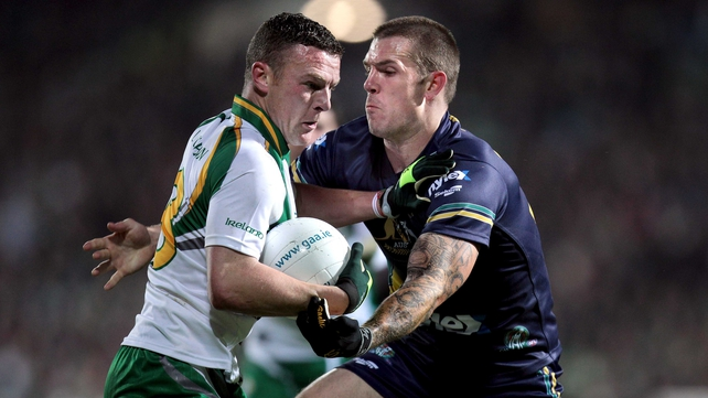 Ireland's Leighton Glynn and Dustin Fletcher of Australia ba