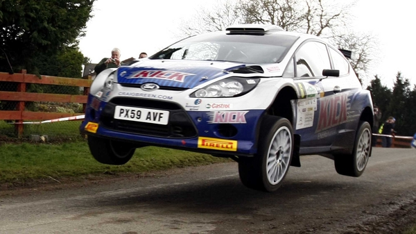 Craig Breen - Took a convincing victory in the Suirway Farm Machinery Raven's Rock Rally