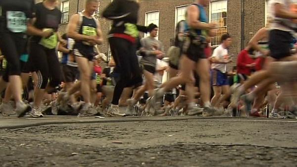 Dublin - 13,000 took part in marathon