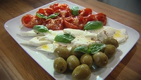 Insalata Caprese with a Twist - Perfection in under an hour.