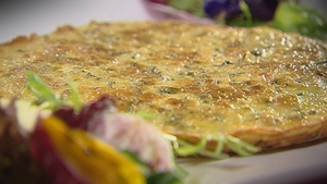 Catherine Fulvio's Courgette and Thyme Frittata